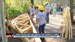 Largo paving way for Habitat for Humanity homes - Video