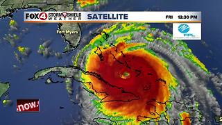 Hurricane Irma - 12pm Friday update - Video