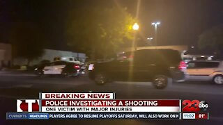 Police Investigating a shooting in East Bakersfield off of Baker St.