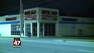 UPDATE: Suspect arrested in Rite-Aid robbery