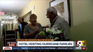 Sharonville hotel opens free rooms for hurricane victims - Video