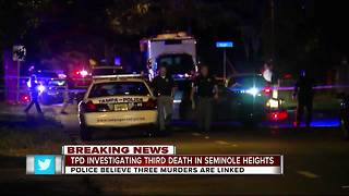 Suspicious death in Seminole Heights possibly connected to 2 other shooting deaths - Video
