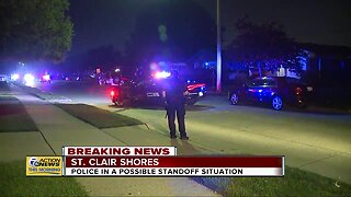 Possible police standoff situation in St. Clair Shores