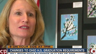 New graduation requirements tied to tests worry Ohio schools - Video