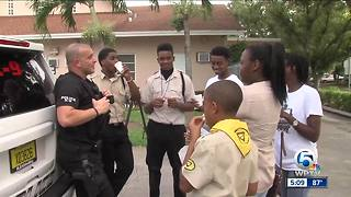 Delray Beach rally building relations between community and law enforcement in Delray Beach - Video