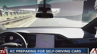 Kansas City prepares for self driving cars - Video