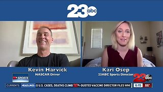 Part One: Kari Osep catches up Kevin Harvick ahead of NASCAR's return