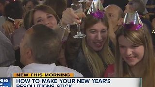 How to make your New Year's resolutions stick - Video