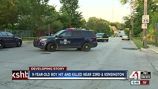 9-year-old Calif. boy killed in a pedestrian accident in east Kansas City