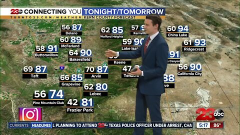 23ABC Evening weather update October 6, 2020
