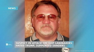 Suspect In Attack On GOP Lawmakers Hated Trump, Supported Sanders - Video