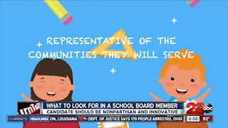 What to look for in a school board candidate