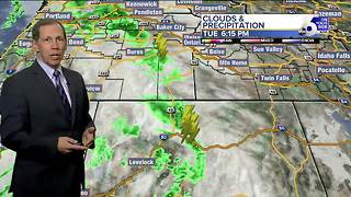 Overnight Showers & Storms - Video