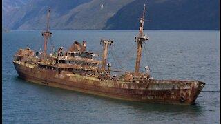 LOST CARGO SHIP SS COTOPAXI CAME BACK AFTER 90 YEARS?