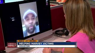 Wauwatosa native shelters family and friends in Houston home - Video