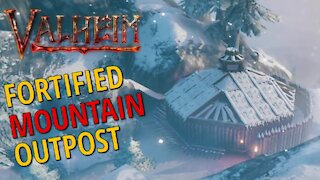 Fortified Mountain Outpost - Valheim
