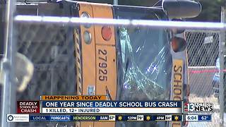 One year since deadly bus crash