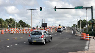 Roosevelt Bridge reopens to traffic in Stuart