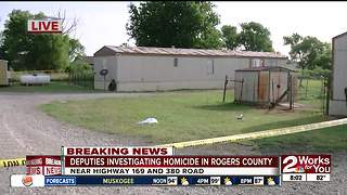 Man fatally stabbed in Rogers County