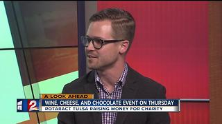 Wine Cheese and Chocolate Event - Video