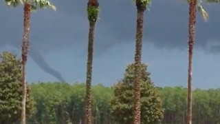 Funnel Cloud Blows Through Nocatee As Storms Hit Northern Florida - Video