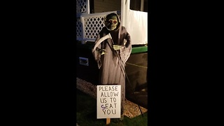 Pennsylvanian restaurant's epic Halloween display