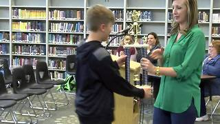 2016 Glenpool Middle School Spelling Bee - Video
