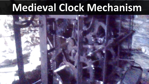 The Medieval Clock Mechanism of the Old Church