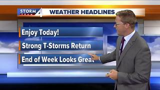 Brian Niznansky's Tuesday morning Storm Team 4cast - Video