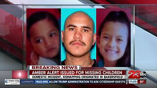 Amber Alert issued for missing children out of Bakersfield