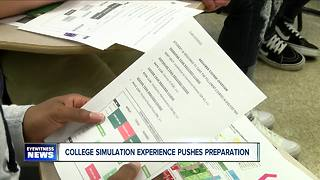 The College Simulation Experience eases kids into college prep - Video