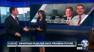 Gardner, Bennet propose new DACA deal that includes wall funding as immigration debate continues - Video