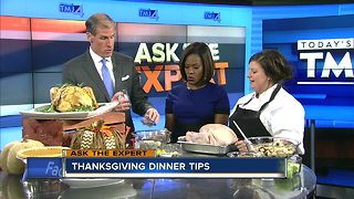 Ask the Expert: Thanksgiving dinner tips