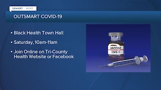 Black Health Town Hall Saturday to answer vaccination questions