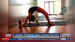 Xenxen yoga offering classes for kids - Video