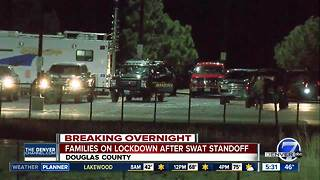 Man dead following SWAT situation, standoff at Douglas County home - Video