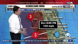 3 a.m. update: Irma returns to Category 4 strength as it closes in on Florida Keys - Video