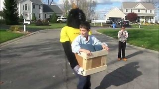 This Kid With His Illusion Ape Costume Won Halloween