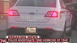 Tulsa Police investigate West Tulsa homicide - Video