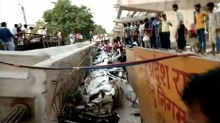 More Than A Dozen Dead After Overpass Collapse In India - Video