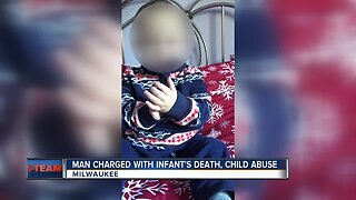 Man charged with infant's death, child abuse