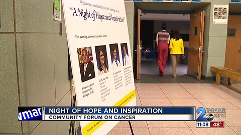 A night of hope and inspiration on Friday