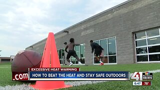Beating the heat and staying safe outdoors