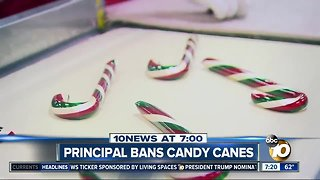 "Candy canes shaped like ""J"" for Jesus?"