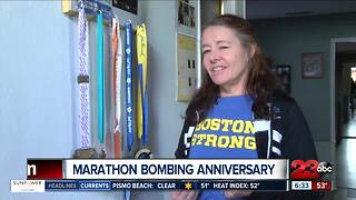 Bakersfield couple remembers Boston Marathon Bombing - Video