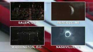 Metro Detroiters head to Cranbrook to view the eclipse - Video