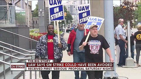 UAW says strike could have been avoided, claims GM's last-minute contract proposal came a 'little too late'