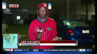 Lee County road conditions unknown, mandatory curfew still in place - Video