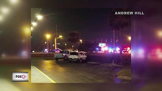 Accident Shuts Down Fort Myers Intersection - Video