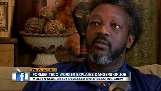 TECO power plant retiree describes dangers - Video